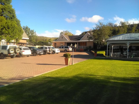 Resthaven Guesthouse Welcomes the Southern Lesotho Bhejane 4x4 Adventure Group